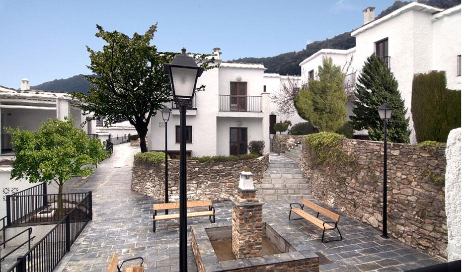 Bubión, en Granada, pertenece a los denominados Municipios Turísticos.