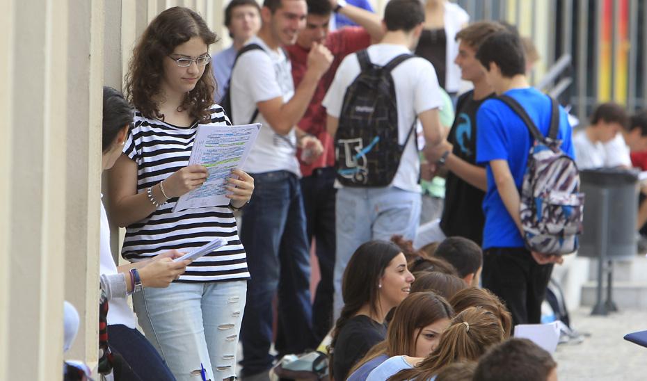 Universitarios andaluces.