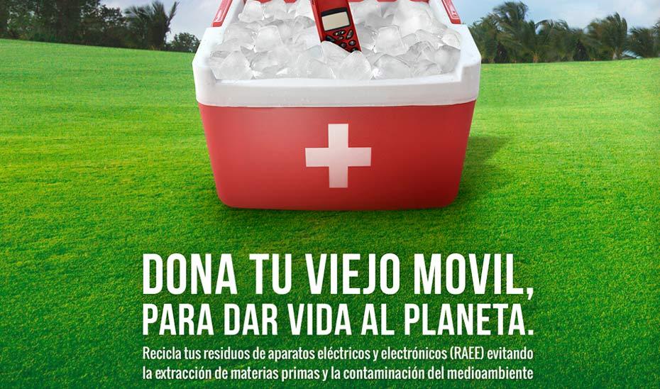 La campaña de reciclaje incluye más de 500 acciones de marketing.