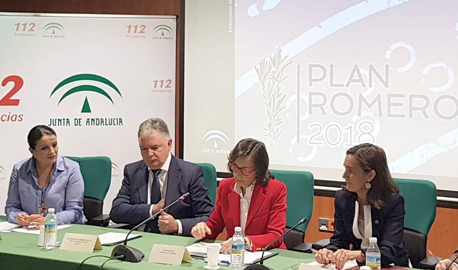 Durante la presentación del Plan Romero 2018, Rosa Aguilar ha reiterado el compromiso firme de la Junta contra el maltrato animal.
