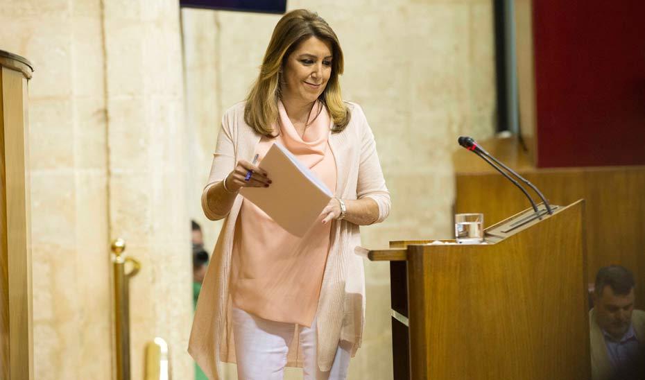 Susana Díaz: Andalucía, a debate