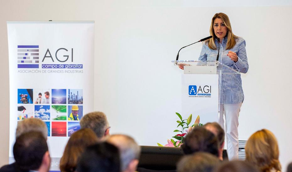 La presidenta andaluza defiende la innovación como vía para alcanzar el cambio de modelo productivo