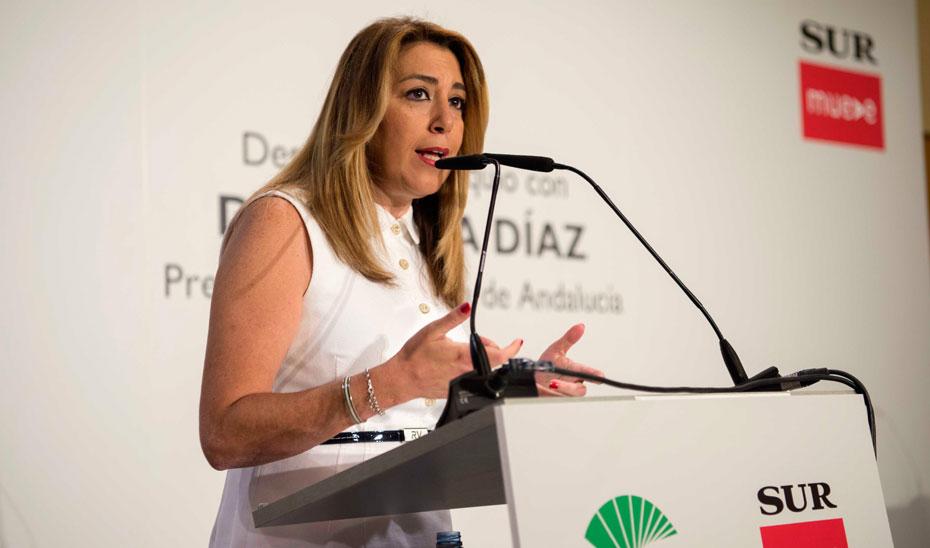 """Díaz destaca la estabilidad y solidez de Andalucía en un momento de """"cambio continuo"""""""