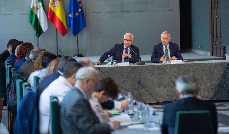 Intervención de Manuel Jiménez Barrios en el Pleno del Consejo de Comunidades Andaluzas en el Exterior