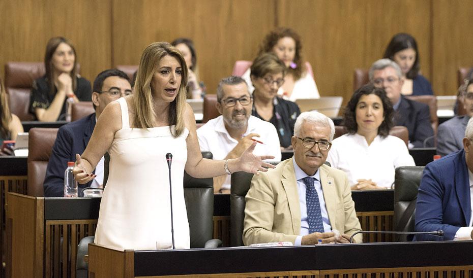 """Díaz valora la """"ventana de oportunidad"""" que supone el nuevo Gobierno para Andalucía"""