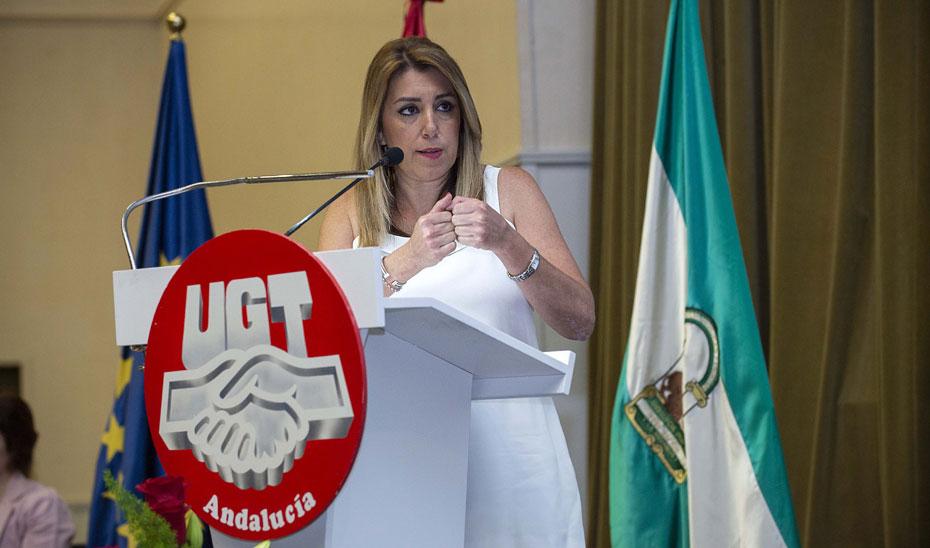 Díaz destaca el objetivo de luchar contra la precariedad laboral