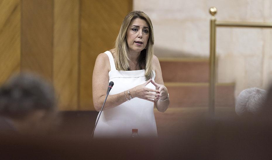 La presidenta de la Junta anuncia la apertura completa del Hospital de La Línea