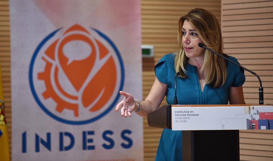 Intervención de Susana Díaz en la inauguración de la nueva sede de los Institutos de Investigación de la UCA