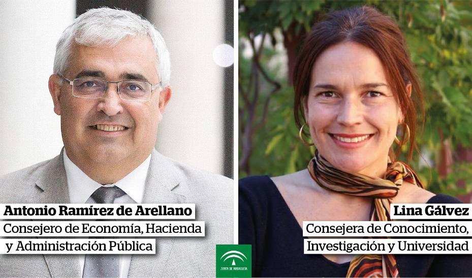 Nuevos nombramientos del Gobierno andaluz.