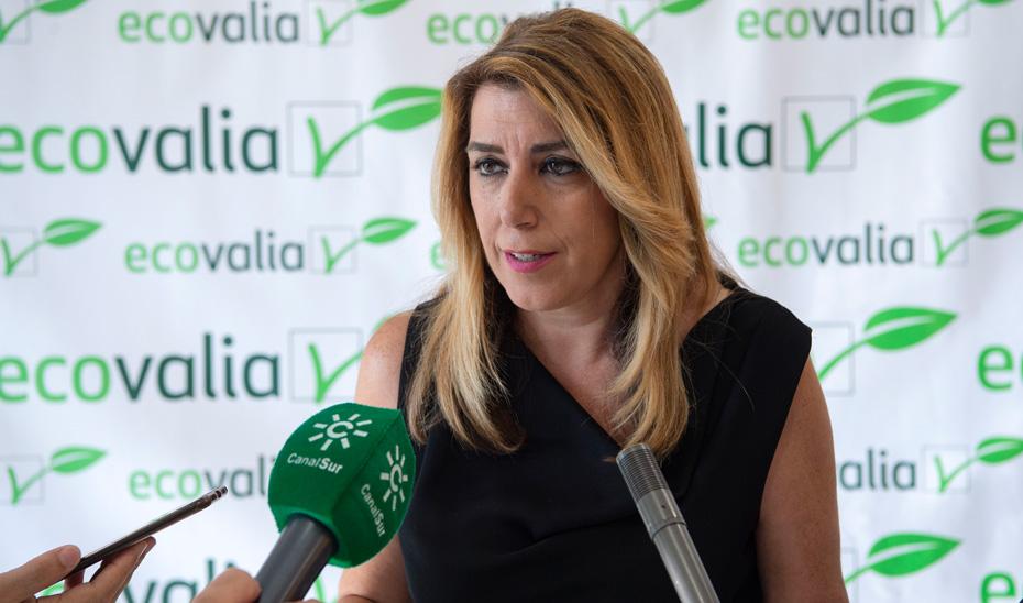 Susana Díaz destaca que la comunidad es una potencia en producción ecológica