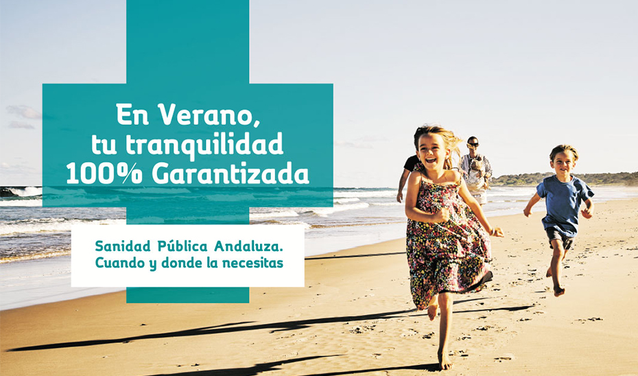 Campaña institucional de la Consejería de Salud 'En verano, tu tranquilidad, 100% garantizada'