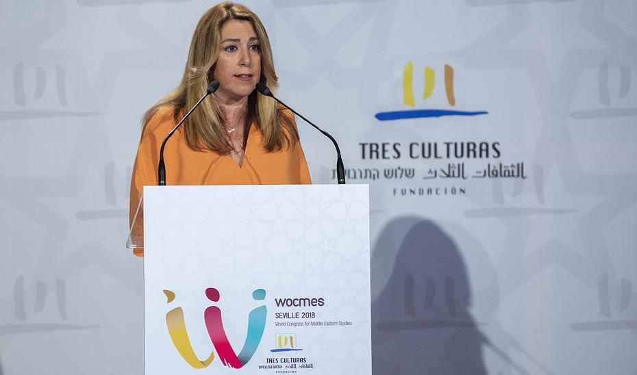 Susana Díaz aboga por políticas integrales y solidarias de ayuda al desarrollo