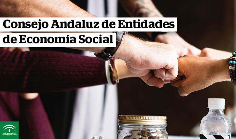 Animación gráfica sobre la creación del Consejo Andaluz de Entidades de Economía Social (CAEES)