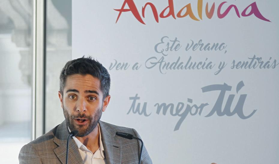 Roberto Leal , \u0027Embajador de Andalucía\u0027 (Foto Archivo EFE)
