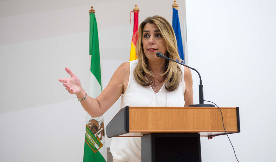 Díaz inaugura el nuevo hospital de La Línea