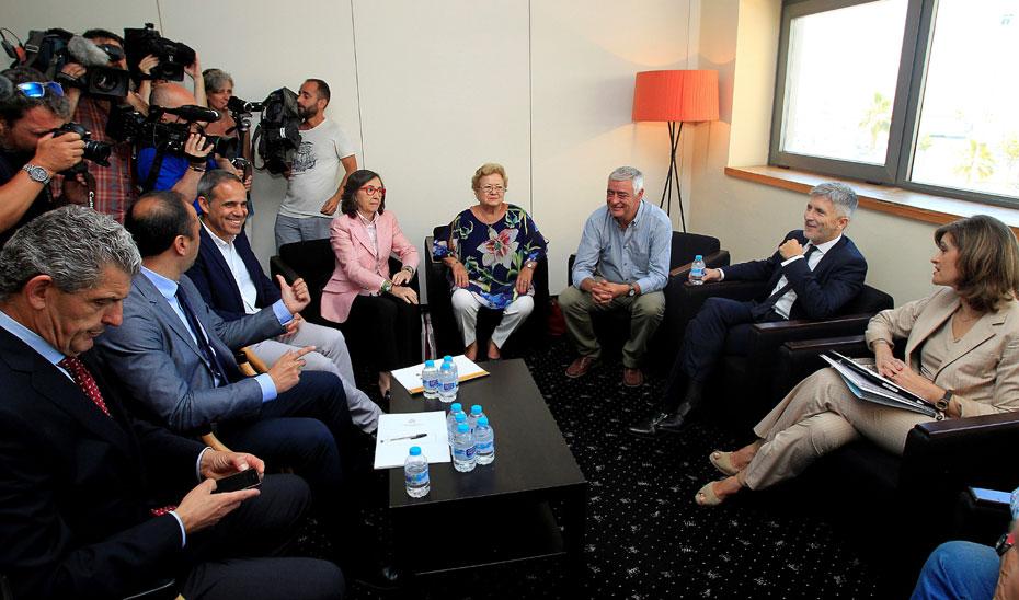 Aguilar participa en una reuni n con el ministro del Quien es el ministro de interior y justicia
