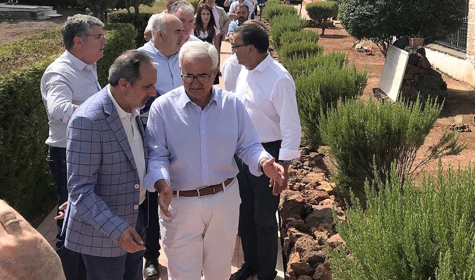 Intervención del vicepresidente de la Junta de Andalucía en el convenio con la Diputación de Huelva sobre Memoria Democrática