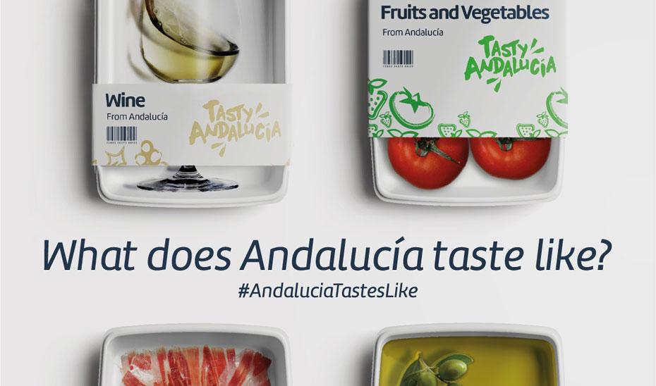 Imagen de la campaña \u0027Tasty Andalucía\u0027 (\u0027Sabrosa Andalucía\u0027).