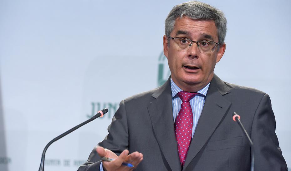 Blanco explica la  nueva Estrategia de Bioeconomía Circular y la Agenda Urbana de Andalucía