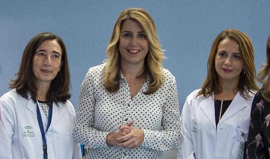 Susana Díaz inaugura la Unidad de Reproducción Asistida Avanzada del Hospital de Valme