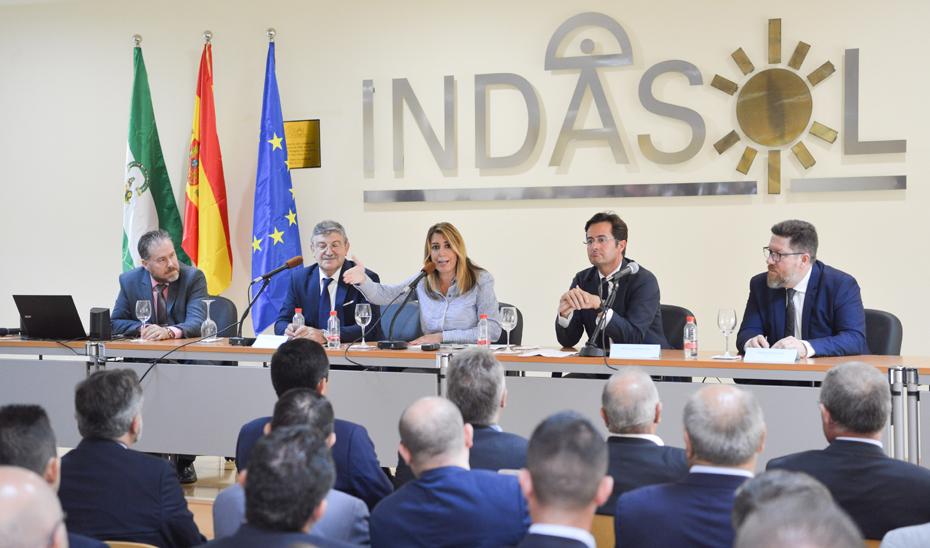Intervención de la presidenta de la Junta en el XXV aniversario de Indasol, SAT
