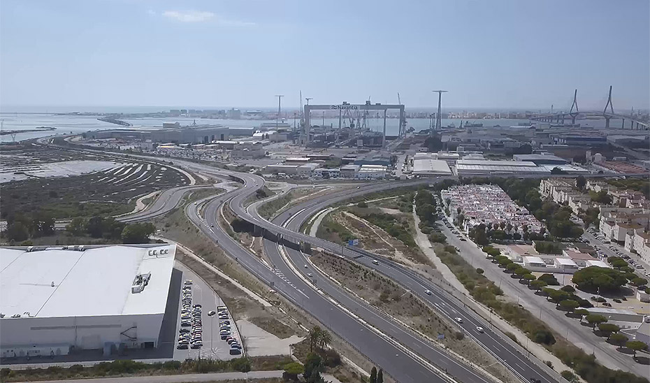 Vídeo informativo sobre la nueva Plataforma Logística y Tecnológica Bahía de Cádiz 'LÓGICA'