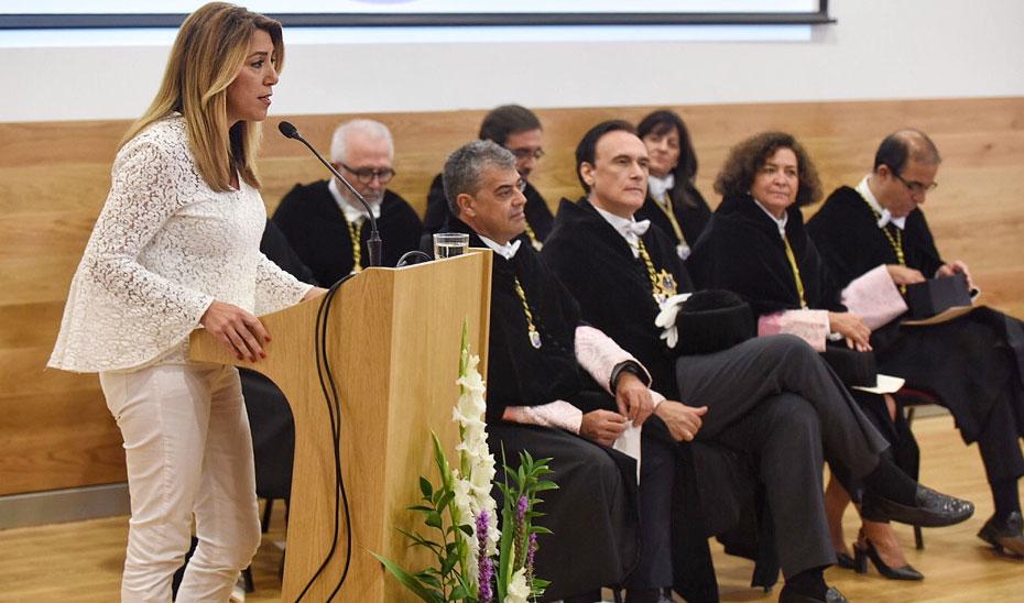 Susana Díaz inaugura en Cádiz del inicio del curso 2018/2019 de las diez universidades públicas andaluzas