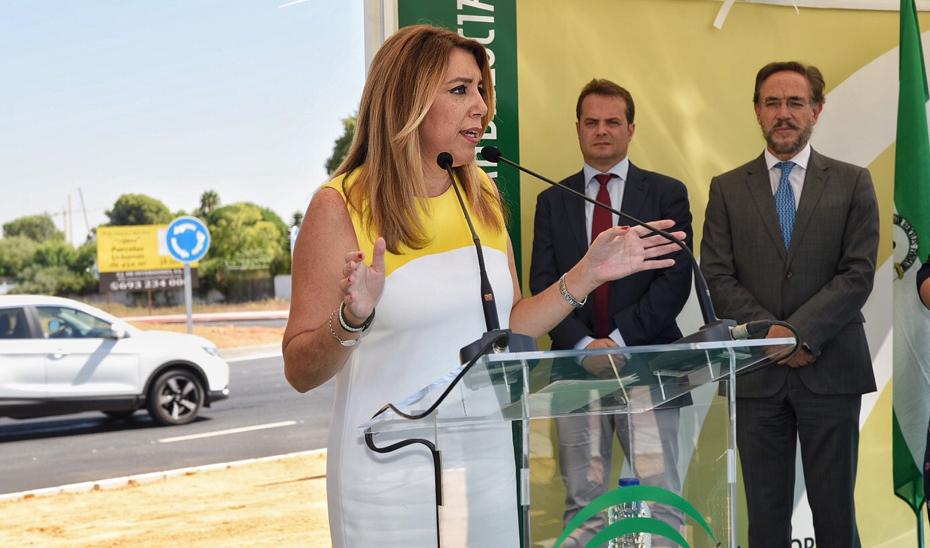 Intervención de Susana Díaz en la inauguración de la Ronda Sur de Mairena