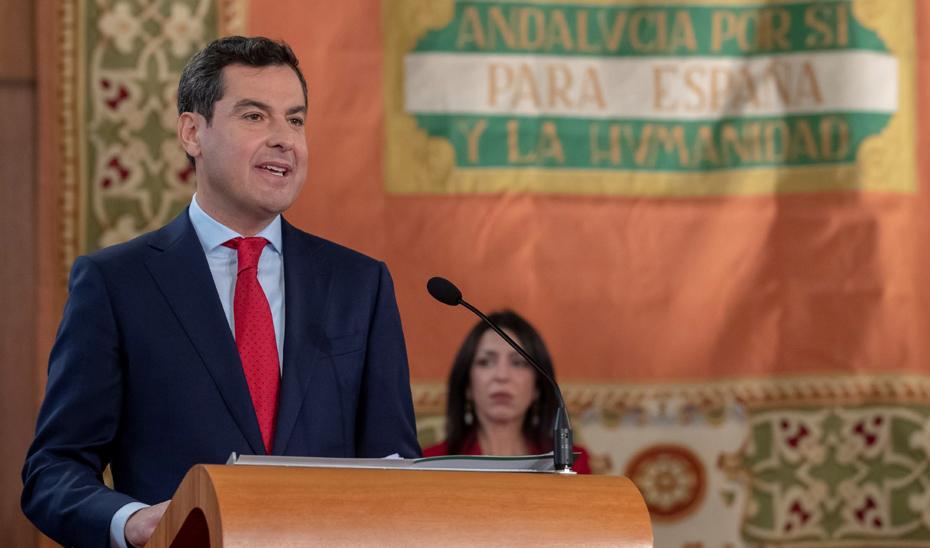 Intervención de Juan Manuel Moreno en su toma de posesión como presidente de la Junta