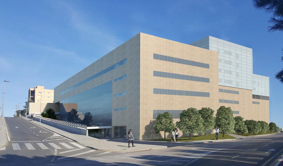 ec61a2fb7 El edificio se alzará sobre una parcela de 4.200 metros cuadrados. ampliar  imagen