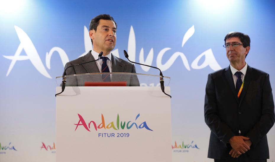 Intervención del presidente de la Junta de Andalucía en Fitur 2019
