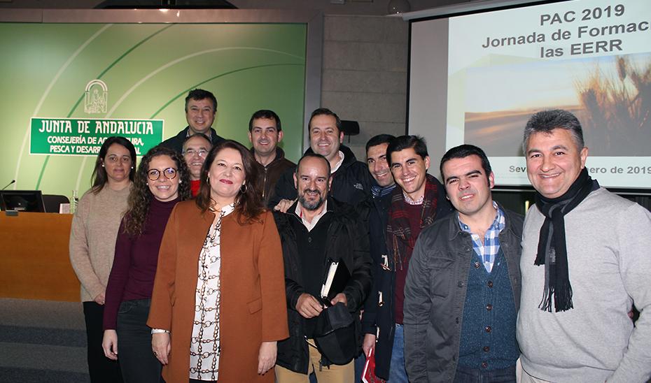 La consejera de Agricultura, Ganadería, Pesca y Desarrollo Sostenible, Carmen Crespo, ha asistido al acto de apertura de las jornadas formativas para la presentación de la Solicitud Única de la PAC 2019.