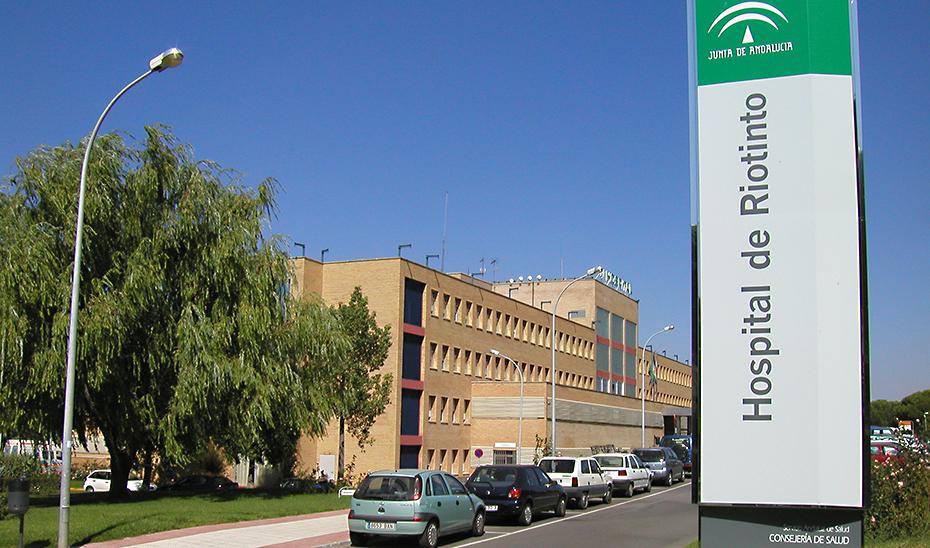 Hospital de Riotinto, ubicado en pleno corazón de la Cuenca Minera de Huelva.