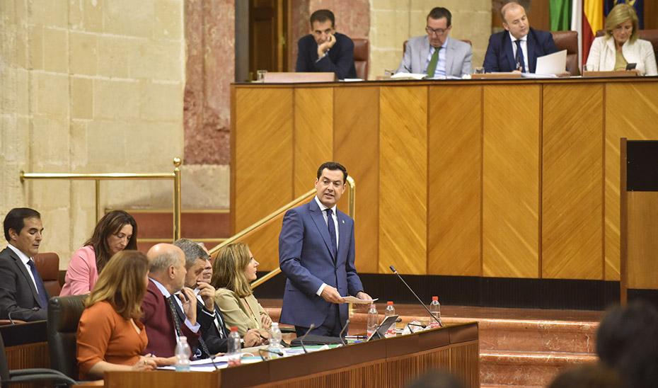 Moreno celebra que el nuevo modelo económico andaluz haya propiciado una subida del 9,8% en inversión extranjera