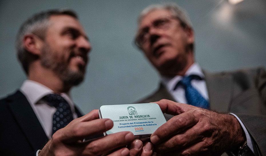 Comparecencia informativa de Juan Bravo y Rogelio Velasco tras la reunión del Consejo de Gobierno (audio íntegro)