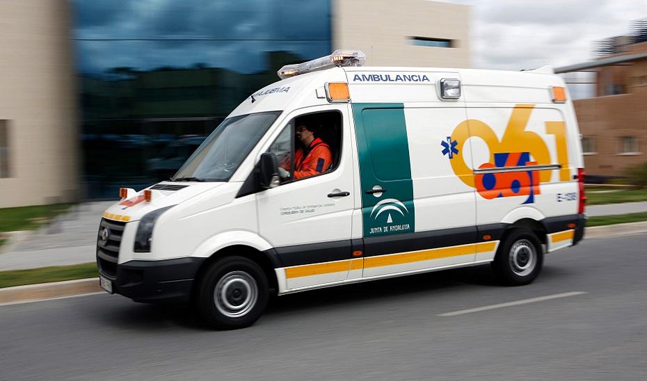 Ambulancia de EPES.
