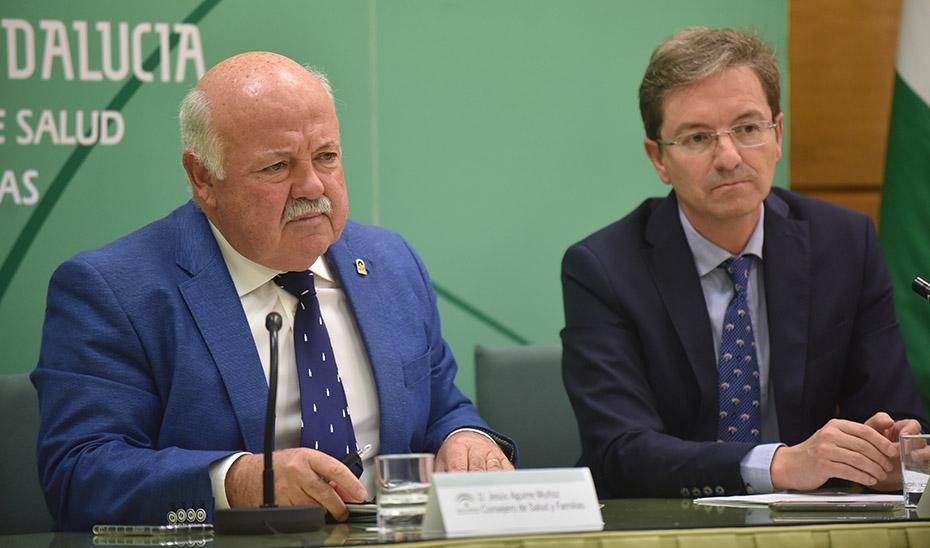 Jesús Aguirre informa de la desactivación de la alerta por listeriosis en Andalucía