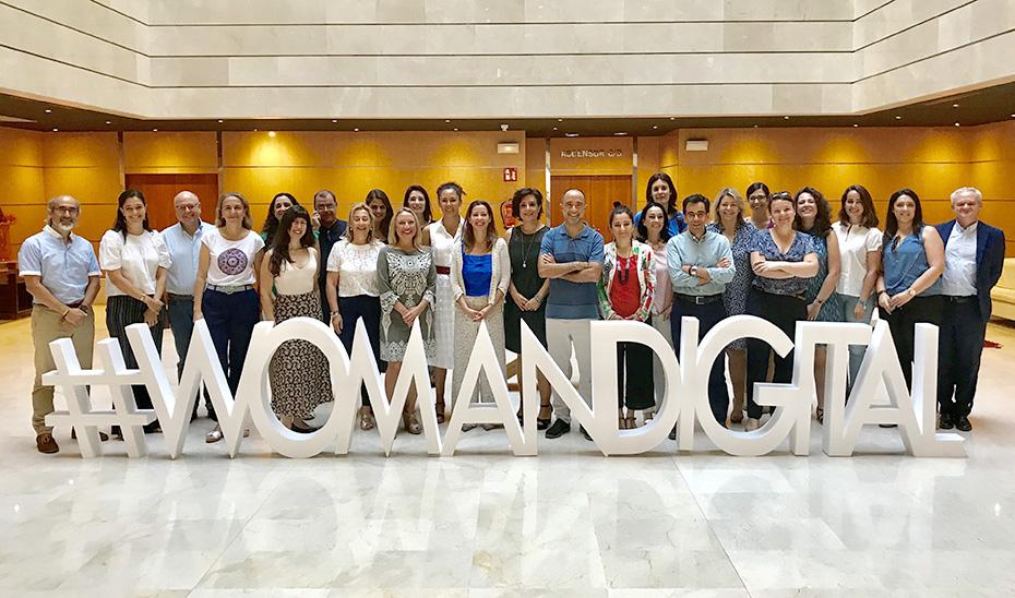 Presentación del programa #WomANDigital.