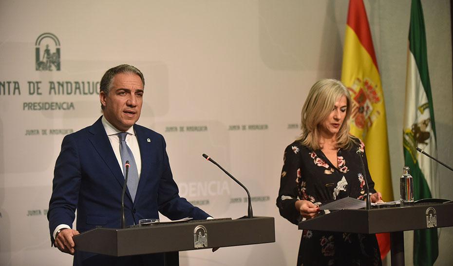 Comparecencia informativa de Elías Bendodo y Patricia del Pozo posterior al Consejo de Gobierno (vídeo íntegro)