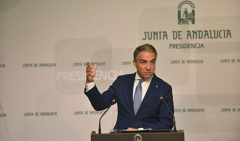 Bendodo informa del acuerdo para formular la Estrategia Aeroespacial de Andalucía 2027