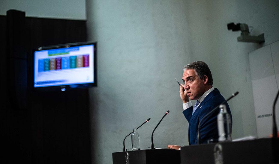 El portavoz da a conocer los datos del último Observatorio Económico de Andalucía