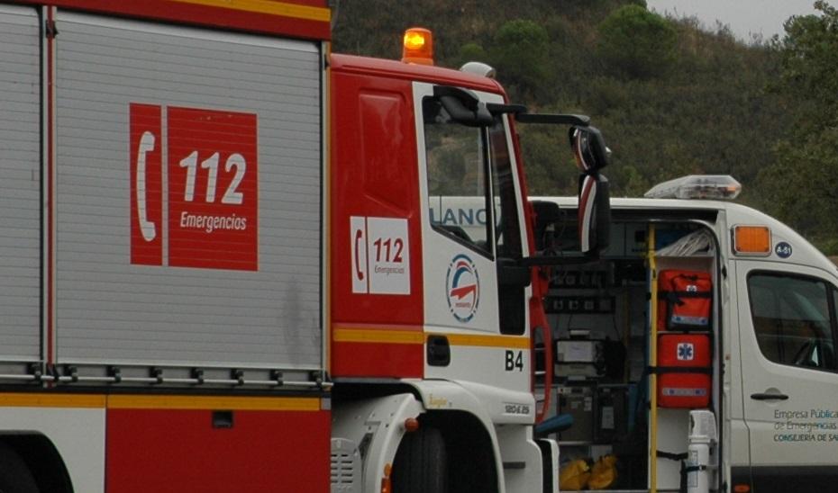 Vehículos de bomberos (Foto: Archivo).