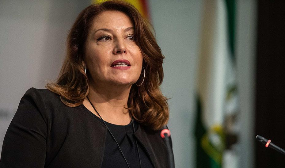Carmen Crespo presenta un informe sobre el impacto de los nuevos aranceles de EEUU en las exportaciones