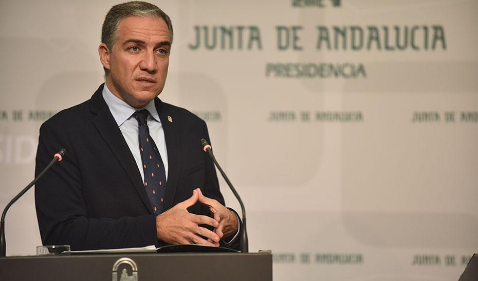 Bendodo ofrece los datos del último Observatorio Económico Semanal de Andalucía