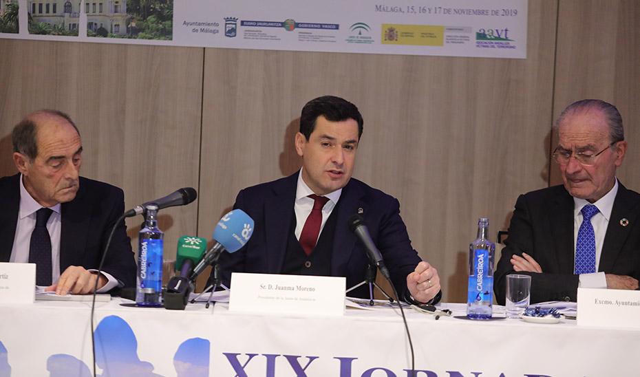 Intervención del presidente de la Junta en las XIX Jornadas de la Asociación andaluza de Víctimas del Terrorismo