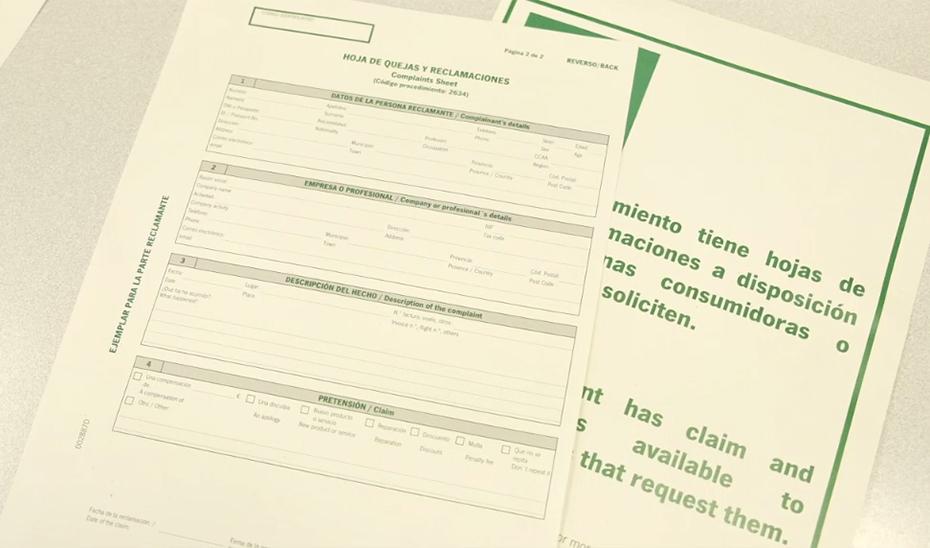 Nueva regulación para las hojas de quejas y reclamaciones