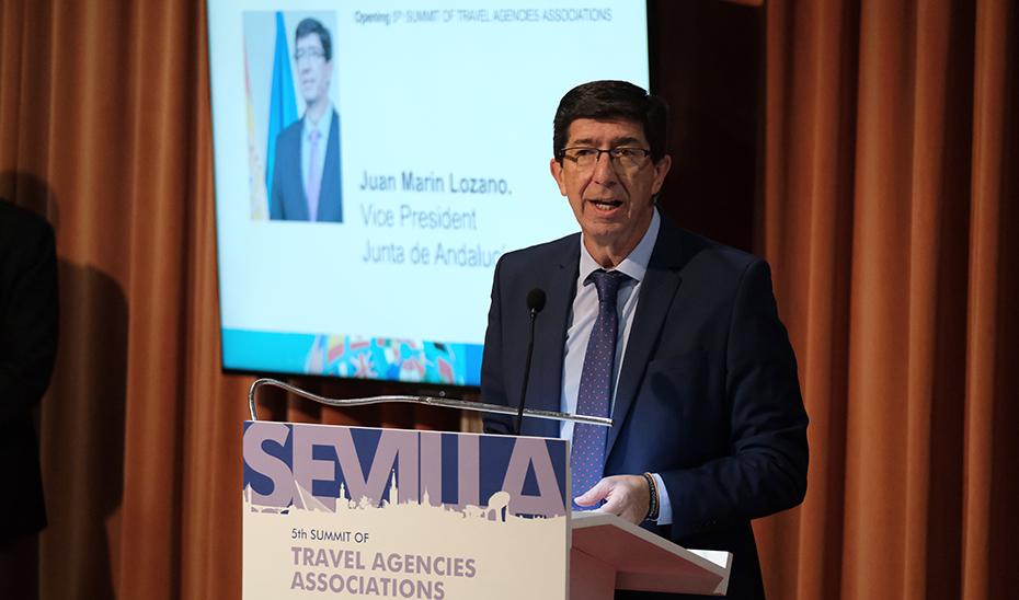 Marín resalta la diversidad de la oferta de Andalucía como foco de atracción para las agencias de viajes