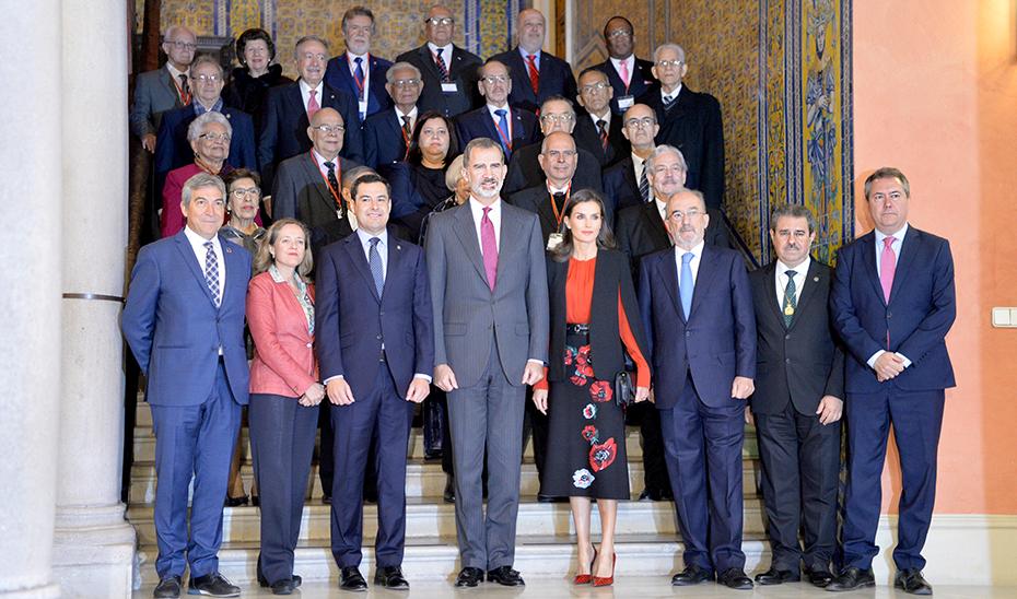 Moreno asiste en Sevilla a la clausura del XVI Congreso de la Asociación de Academias de la Lengua Española