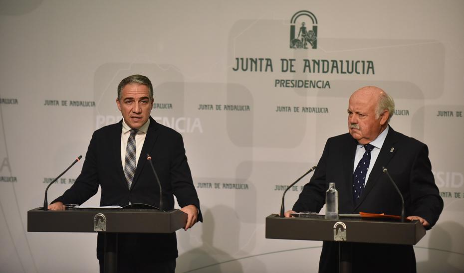 Bendodo expone el crecimiento de la producción industrial de Andalucía