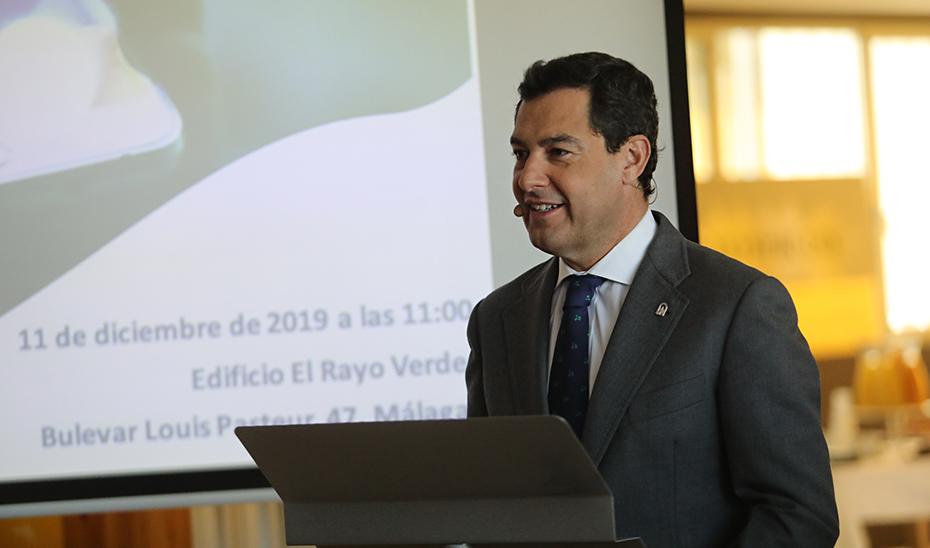 """Moreno presenta la """"revolución digital"""" que hará de la Junta una Administración más eficaz, eficiente, ágil y sencilla"""